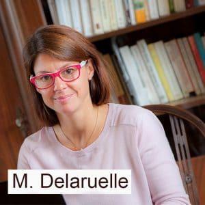 Marie Delaruelle, mentor cap Réussite