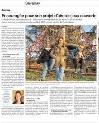 Une lauréate 2016 dans le Ouest France