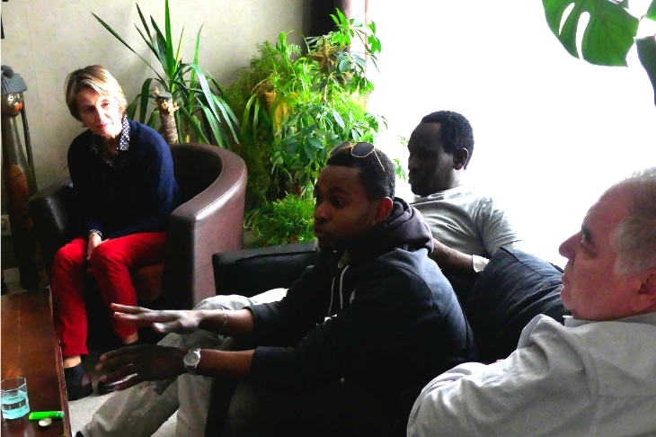 mentorée à Angers : Messaouda, dirigeante bienveillante, à la tête d'Étape Habitat 38