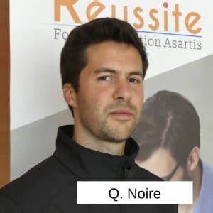 Quentin Noire - mentoré Over The Cap en 2019
