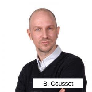 Bastien Coussot -dirigeant de CK Traiteur