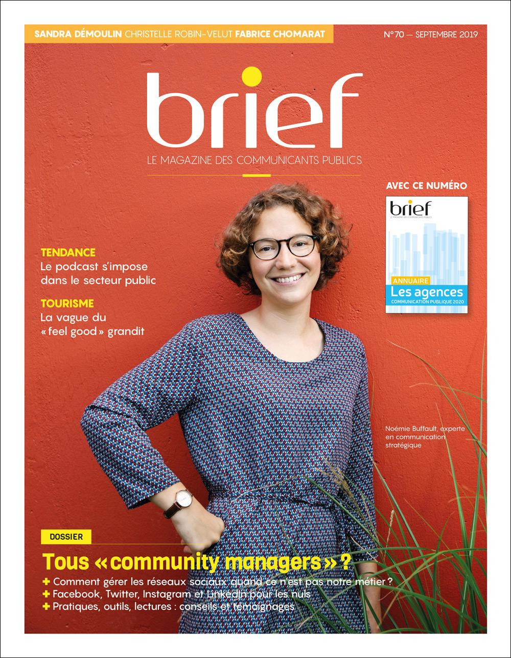 Brief couverture Noémie Buffault