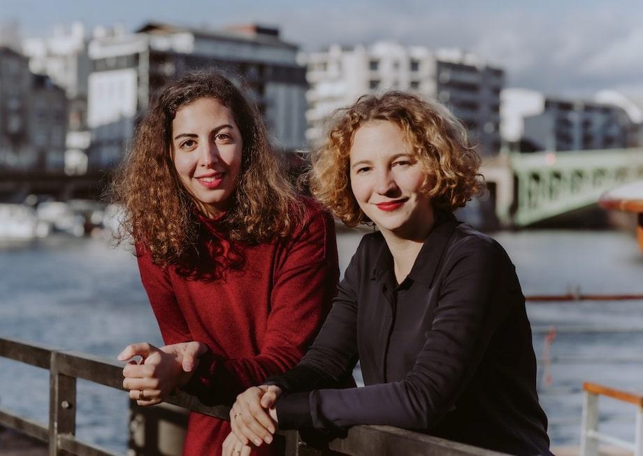 Noemie et Ines, fondatrices et associées de l'agence Leksi